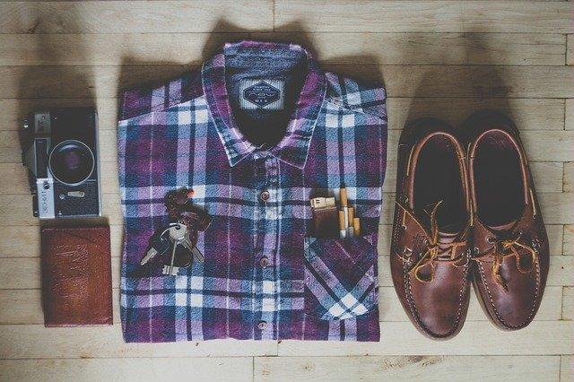 Fashion Shirt Shoes Clothes